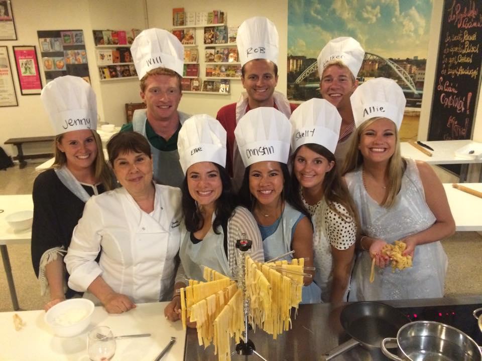 Scuole di cucina roma scuola corsi a puntarella rossa img